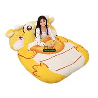 Wholesale toys for chinese children - Dorimytrader Chinese Dragon Sleeping Bag Tatami Giant Stuffed Lucky Dragon Beanbag Soft Bed Carpet Mat Sofa for Children Gift DY61641