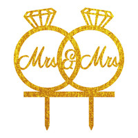 anillos de boda pastel de cumpleaños al por mayor-Al por mayor-MrMrs
