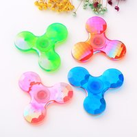 Wholesale Crab Mix - Fidget Spinner Mix colors Hand Spinner plastic Triangle Spiners Crab Claw Anti-Anxiety Decompression Toys EDC free shipping hot sale