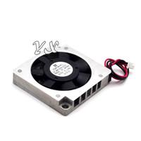 mini ventiladores 5v al por mayor-Envío gratis de alta calidad Nueva 5V 0.14A UDQFNKH01 3507 ventilador 3CM mini portátil ventilador de refrigeración
