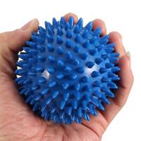 masajeador de puntos al por mayor-Bolas de masaje premium calientes, juego de bolas de lacrosse firme o rodillo de punta, punto de activación de tejido profundo, masajeador de pies, movilidad, acupresión, terapia