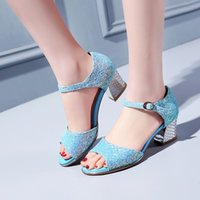 Wholesale Small Yards 31 Size - 2017 women's sandals cow muscle outsole open toe female shoes plus size 31 3233 43 44 45 oversized small yards