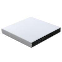unidades ópticas portátiles al por mayor-USB 2.0 Grabador CD-RW / DVD-RW Burner Drive Unidad óptica para tabletas / PC / Mac / Laptop / Notebook / Desktop Unidad Slim externa