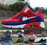 Wholesale Men Max Running - 2016 Newest Max Men Running Shoes High Quality Sport Shoes Black Red Maxes Athletic Boots Trainers Sneakers Eur 40-45