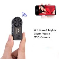Atacado-Spy Mini Camera Wifi 720p HD infravermelho Night Vision sem fio secreto escondido Cam Securtity Nanny Camara marca IP Camcorder