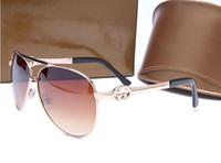 Wholesale High End Sunglasses - 2017 selling brand new high-end sunglasses RETRO SUNGLASSES and colorful metal shading Sunglasses big 234815 free shipping