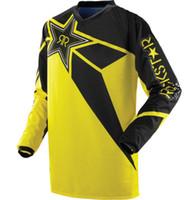 Wholesale Dh Cycling Jerseys - 2017 Newest Designs Off Road Racing DH MX ATV quick-drying T-shirts Motorcycle Cycling Mountain Bike Racing Jerseys rockstar shirt