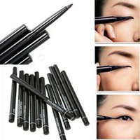 Wholesale Easy colored and long lasting Makeup Eyeliner Pen Waterproof Automatic Eyeliner Pencil