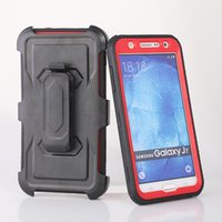 Wholesale water phone protector online – custom Rugged Hybrid Defender Hard Phone Case Cover Built in Screen Protector Clip For Samsung G530H G360H J2 J3 J5 J7 Prime A310 A510 A710