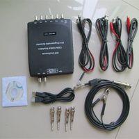 Wholesale Digital Storage Oscilloscope Multimeter - Hantek 1008C Automotive Oscilloscope 8 Channels Programmable Digital Multimeter PC Storage Osciloscopio USB Diagnostic-tool