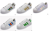 Wholesale Skateboard Shoes Casual - Hot!classic style Stan Smith shoes men's women casual shoes 36-44 white musial Stan Smith skateboard shoes