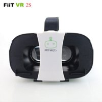 Wholesale Glasses Lg 3d Polarized - NEW FIIT 2S Plastic Version Virtual Reality 3D Glasses google cardboard vr box vr park oculos for huawei xiaomi meizu lg samsung