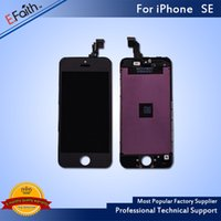 Wholesale iphone 5s black for sale - For iPhone SE Black LCD Screen Display For SE Screen Digitizer Replacement