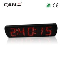 Wholesale Race Timing Clock - [GANXIN]5'' Single Side Giant Countdown Timer Sport Timing Race Clock Count Down Up In Minutes Seconds
