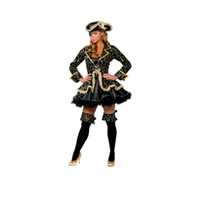 Wholesale costumes for pirates for sale - Sexy Pirate wench lady Halloween cosplay costume set for adults women Nightclub wear party dress outfit with hat patch