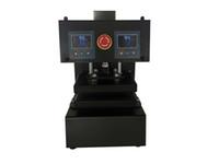 двойной компрессор оптовых-Без воздушный компрессор автоматический канифоли пресс-машина 100% оригинал, Фабрика сразу продажи чисто электрических авто с двумя тепловыми пластинами с ЖК