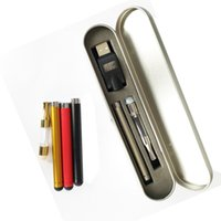 Wholesale Silicon G2 - G2 Kits Bud Touch Kits G2 vs CE3 Cartridges Chrome Metal Tips Clear Food Grade Plastic Tube 280mah Bud Touch Battery USB charger