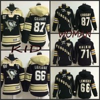 86b8713de ... Ice Hockey Men Full Youth And Woman Pittsburgh Penguins Old Time Hockey  Hoodies 87 Sidney Crosby Penguins 66 Mario Lemieux ...