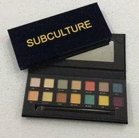 Wholesale New Arrived Makeup Sets - New Arrived Hot !! SUBCULTURE Eye shadow Palette Eyeshadow Palette 14 color Highlighter makeup Palettes