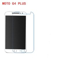 Wholesale touch screen g4 - Tempered Glass Screen Protector For Motorola MOTO G4 PLUS Phone touch screen protector
