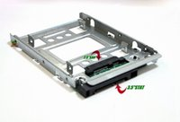 Wholesale hp adapters - HP quot SSD to quot SATA Adapter Tray Converter SAS HDD Bracket Bay