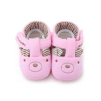 Wholesale Cute Bear Shoes - Delebao New Arrival Baby Boy & Girl Casual Shoes Cute Bear Soft Sole Shallow Infant Toddler Shoes