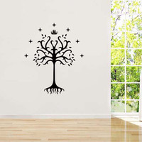Wholesale wall stickers ring - For Lord Of The Rings Vinyl Sticker Decal King Of Gondor Flag Bumper Art Wall Removable Bedroom Sitting Room Diy Decor