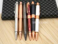 Wholesale Golden Rose Gift - Luxury classics business gifts rose golden Vienna Metal Ballpoint Pen