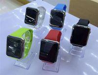 los teléfonos más vendidos al por mayor-2017 teléfono elegante del reloj elegante superior A1 Venta caliente Smartwatches Relojes inteligentes usables de Bluetooth con la cámara para Smartphone Smartwatch de Android