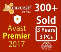 Wholesale Working Fashion - AntiVirus 2017 Avast Premier Licence file Antivious3Year 3PC Full work Send By Email
