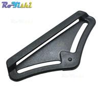 Wholesale Belt Buckle Pad - 50pcs lot Belt Strap Buckle Slider Back Pad For Fall Arrest Protection Webbing 25*50mm
