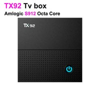 Wholesale Hd Downloads - New 2GB 16GB TX92 Tv Box Full HD Video Download Wholesale Android Smart Tv 2.4g 5.8g Wifi Ott Tv Box 6pcs