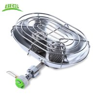 Wholesale Outdoors Heaters - BRS Professional Outdoor Stoves Warmer Heater Heating Stove with Double Burners for Outdoor Camping Fishing Hiking +B