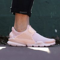 Wholesale Orange Canvas Art - 2017 Popular fragment Sock Dart Breathe Arctic Orange Casual Shoes fashion Men and Women Sports Running Shoes man size 36-44