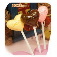 Compra Cabochoni Alimentari-15PCS Mix Color Carino Resina Lollipop