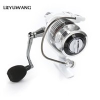 Wholesale Freshwater Trolling - LIEYUWANG 13 + 1BB Spinning Fishing Reel Professional Metal Fishing Reel With Exchangeable Handle Spinning Reels For Casting Line +B