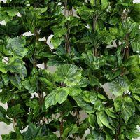 seide weihnachten groihandel-Großhandels-10PCS wie reales künstliches Silk Traubenblatt-Girlande-Imitatweinrebe Ivy Innen / im Freienhauptdekorhochzeits-Blumengrün-Weihnachtsgeschenk