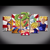 Wholesale Modern Oil Painting Huge - HUGE MODERN ABSTRACT WALL DECOR OIL PAINTING ON CANVAS-Dragon Ball PICTURE CHEAP WALL PAINTINGS CANVAS PRINTS FOR HOME DECORATION