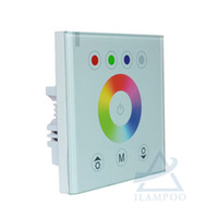 12v wandschalter großhandel-NEUE RGB LED Schalter Controller für RGB LED Streifen Licht, Wandschalter für DIY Dekoration Lichter. Kostenloser Versand, Nagelneu