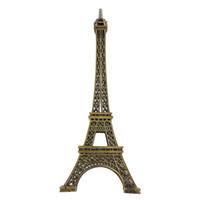 Wholesale Eiffel Tower 15cm - 15cm 18cm 25cm 32cm 38cm Home Decor Vintage Bronze Tone Alloy Paris Eiffel Tower Figurine Statue Model Home Decors Souvenir