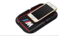 Wholesale bmw m power sticker resale online - Glue M Power M performance car phone no slip pad ring sticker for BMW M3 M4 M6 E40 E46 E36 E39 E70 E60 E90 F30 F18 F10