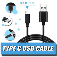 Wholesale Chrome Charger - USB Type C Cable, Male Data Sync Charger (3.3 ft 1m, Black, White) For Apple New Macbook 12 Inch, new Nokia N1 tablet, Google Chrome Pixel
