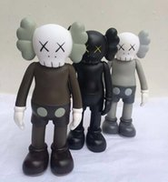 Wholesale Fake Factory - 2017 New 3pcs of lots 8 inch kaws Original Fake Companion toy kaws factory product fancy toy gift,( brown.black. grey)