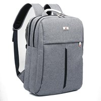 "Wholesale Fashionable Backpacks - Wholesale- 2017 New Swiss bag Backpack for 15"" laptop Fashionable Simple Business Backpack Travel Bags With Alloy Handle"
