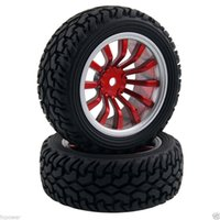 RC HSP 711A-8019 Rally Pneumatici ruote spostamento offset: 6mm per 1:10 On-Road Rally Car