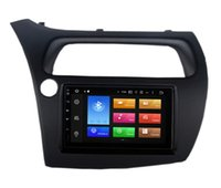 usb unidades gps venda por atacado-4G RAM Octa Núcleo Android 8.1 Sistema Car DVD Unidade Cabeça Para Honda Civic Hatchback 2006-2011 GPS Navi Rádio RDS Controle de Volante USB