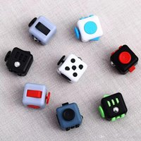 Wholesale Newest Science - NEWEST HOT 2017 Fidget cube world's first American decompression anxiety Toys 11color Free shipping E1674