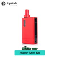 Wholesale Joyetech Electronic Cigarette Mods - Joyetech eGrip II Kit 80W 2100mah Vape Mod 3.5ml Capacity electronic cigarette eGrip 2 All-in-One Starter Kit Vaporizer