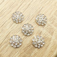 Wholesale Rhinestone Applique Embellishment - 50pcs Wholesale Rhinestone For Clothing Applique Hair Accessories Buckle Charms Craft Flatback Drilling Jewelry Beads strass Embellishment