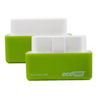 yonga kutuları toptan satış-2018 Sıcak satış EcoOBD2 Benzin Araba Chip Tuning Kutusu Eko OBD2 Fiş ve Sürücü OBDII Düşük Yakıt ve Düşük Emisyon